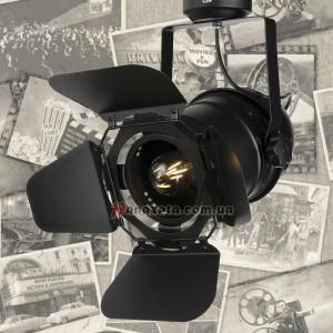 Прожектор потолочный 75231 черный