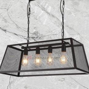 Светильник подвесной Loft 7529212-4 черный