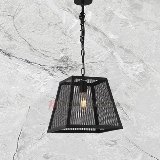 Люстра подвесная Loft 7529221-1 черная