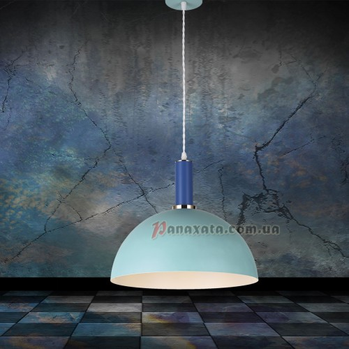 Люстра подвесная Loft 7529514-1 blue-indigo (d350)