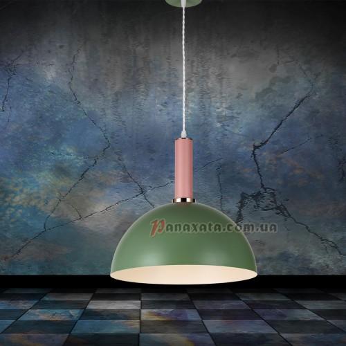 Люстра подвесная Loft 7529514-1 green-rose (d350)