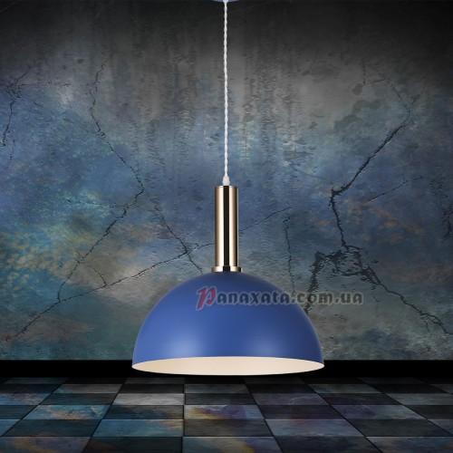 Люстра подвесная Loft 7529514-1 indigo-bronze (d350)