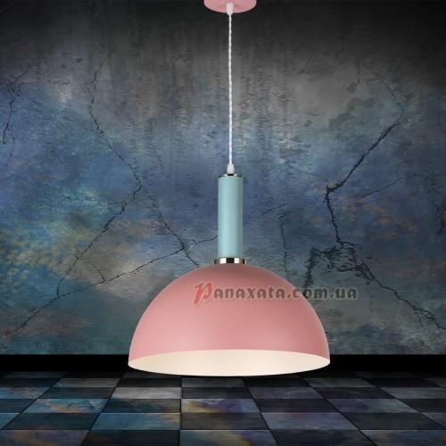 Люстра подвесная Loft 7529514-1 rose-blue (d350)