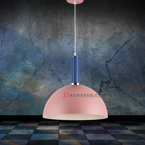 Люстра подвесная Loft 7529514-1 rose-indigo (d350)