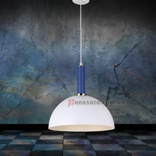 Люстра подвесная Loft 7529514-1 white-indigo (d350)