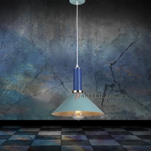 Люстра подвесная Loft 7529515-1 blue-indigo (d260)