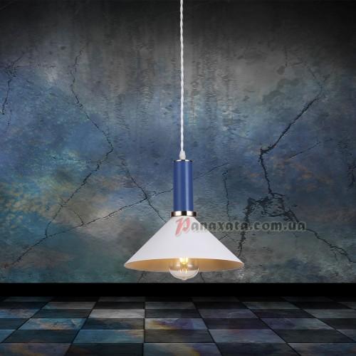 Люстра подвесная Loft 7529515-1 white-indigo (d260)