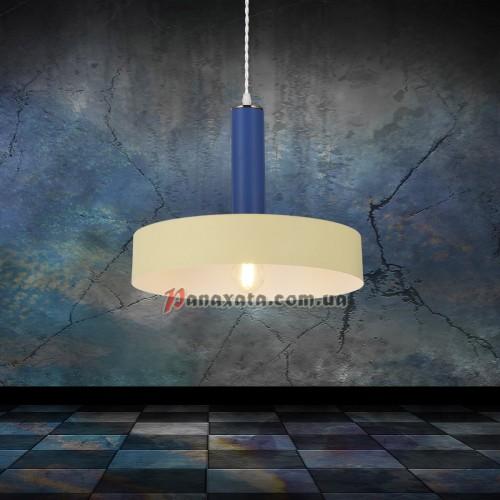Люстра подвесная Loft 7529516-1 beige-indigo (d300)