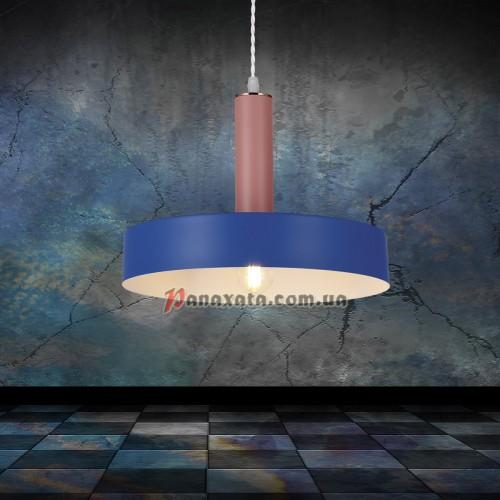 Люстра подвесная Loft 7529516-1 indigo-rose (d300)