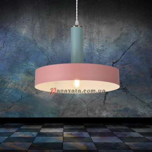 Люстра подвесная Loft 7529516-1 rose-blue (d300)