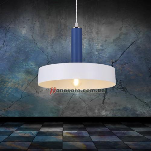 Люстра подвесная Loft 7529516-1 white-indigo (d300)