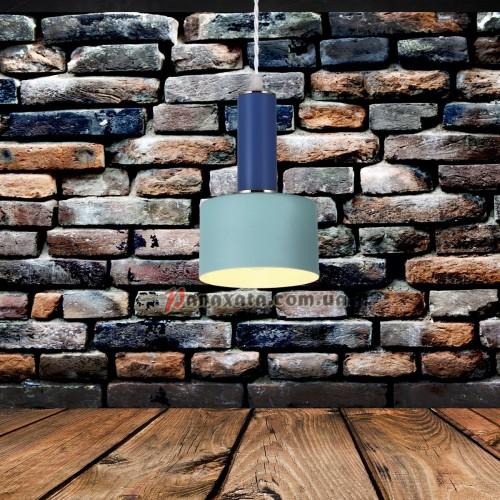 Люстра подвесная Loft 7529517-1 blue-indigo (d130)