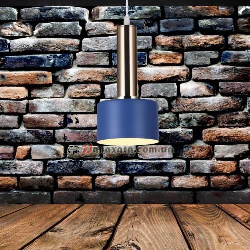 Люстра подвесная Loft 7529517-1 indigo-bronze (d130)