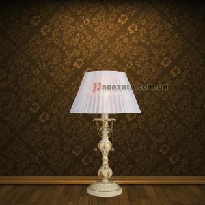 Лампа настольная 755MK30012T-1 CRM+GLD