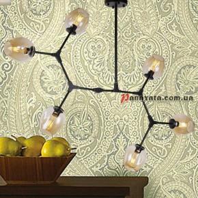 Люстра Loft Molecule 0231-6 Bk
