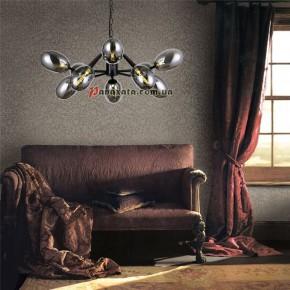 Люстра подвесная Olive Black 0235-10 Bk