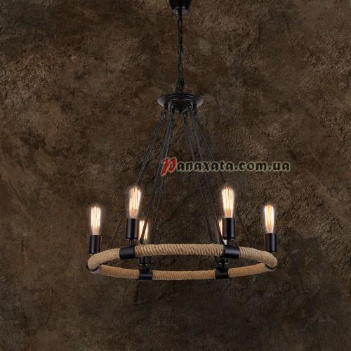 Люстра подвесная Loft 758D834-6