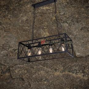 Светильник подвесной Loft 75990202-4 BK
