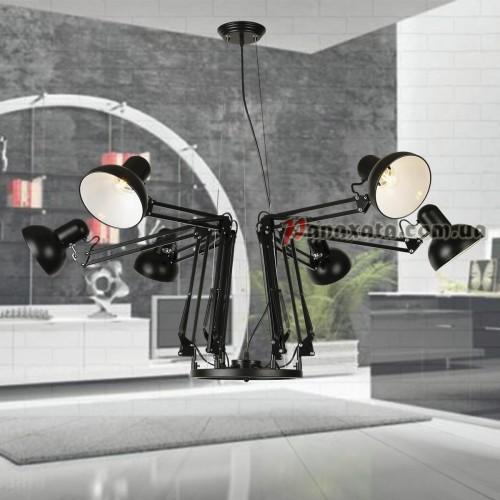 Светильник подвесной Loft 75990290-6 bk