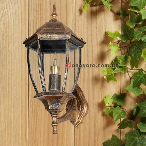 Уличный светильник 760DJ001-M-W1 GB E27 230х270х485мм