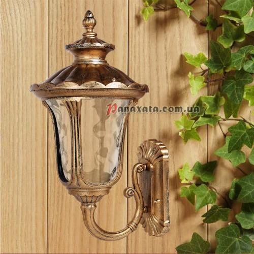 Уличный светильник 760DJ025-L-W GB E27 280х320х570мм