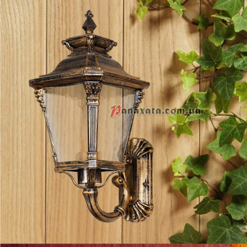 Уличный светильник 760DJ098-S-W GB E27 220х230х390мм