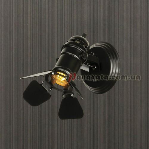 Прожектор настенный 761BSD01-1 BK
