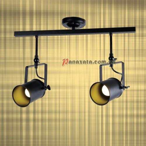 Светильник подвесной Loft 761SD02-2 BK