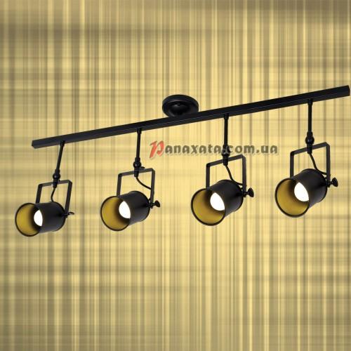 Светильник подвесной Loft 761SD04-4 BK