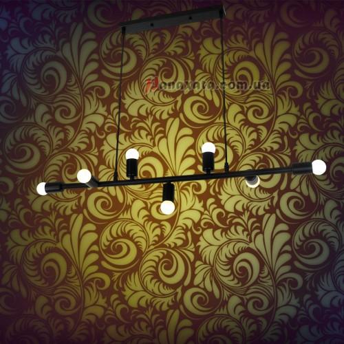 Светильник подвесной Loft 761SX07-7 BK