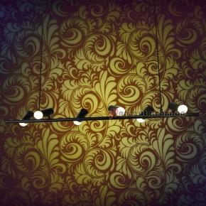 Светильник подвесной Loft 761XN06-6 BK