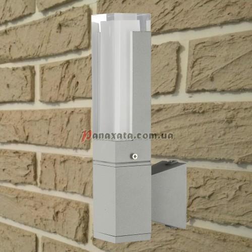 Уличный настенный led светильник 767L533-WL-1 серый