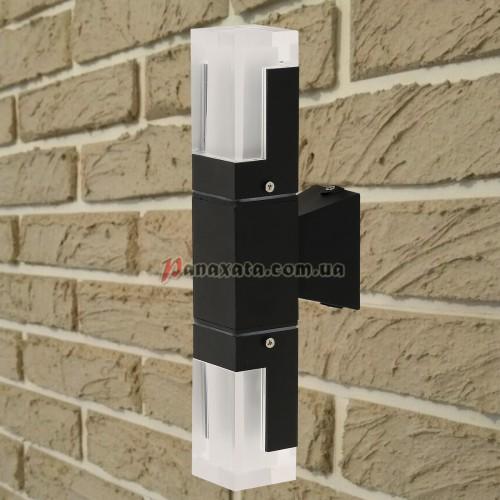 Уличный настенный led светильник 767L533-WL-2 черный