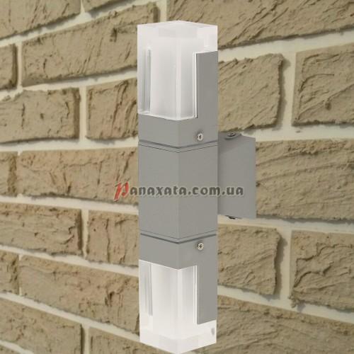 Уличный настенный led светильник 767L533-WL-2 серый