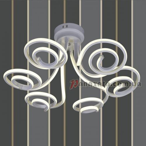 Люстра потолочная LED 801L7001+6 WH