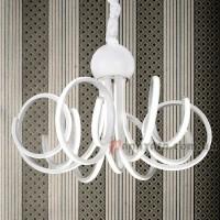 Люстра подвесная LED 801L7122+6 WH