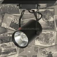 Спот потолочный трековый LED 901COB-012 черный