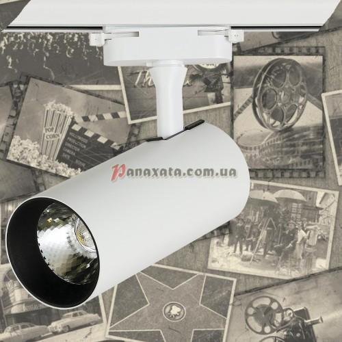 Спот потолочный трековый LED 901COB-1326A белый