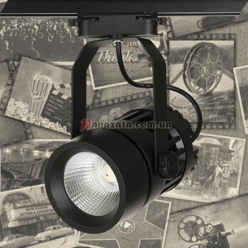 Спот потолочный трековый LED 901COB-1740 черный
