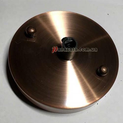 Основание АМР круг 100мм red copper