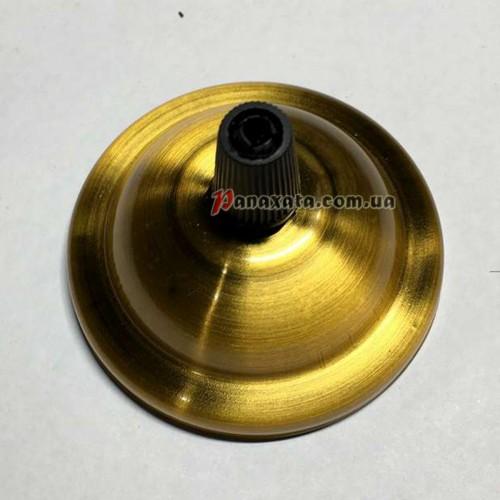 Основание АМР круг 65мм (золото)
