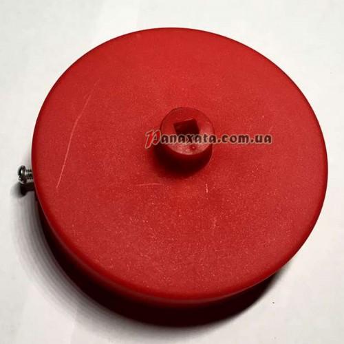 Основание АМР круг пластик 100мм red