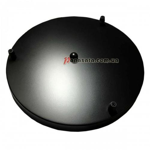 Основание крепежное на 3 круг 300мм black