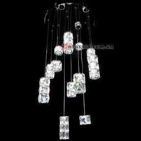 Люстра хрустальная CRISTALIS PREMIUM LIGHT KD6075-72 c чипом Samsung