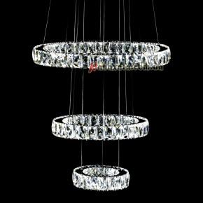 Люстра хрустальная NORDIS LED LIGHTING 3355-3 кольца