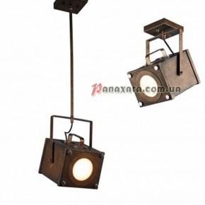 Подвесной светильник Loft направленного света PAN-0000216 коричневый