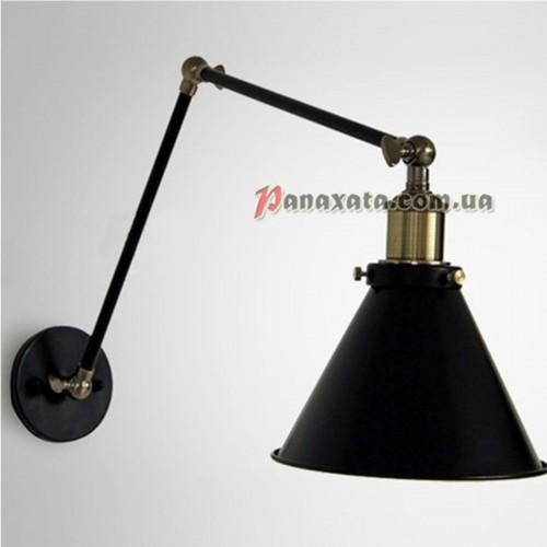 Бра настенная Loft PAN-0000310 black
