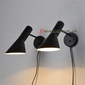 Бра настенная Loft PAN-0000314 black