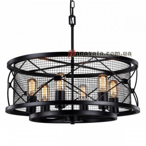 Люстра подвесная Loft  PAN-000074 black