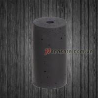 Патрон из бетона черный PAN-000002 b/black